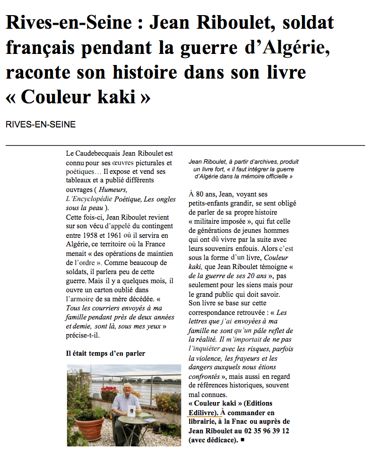 article_Paris_Normandie_Jean_Riboulet_2018_Edilivre