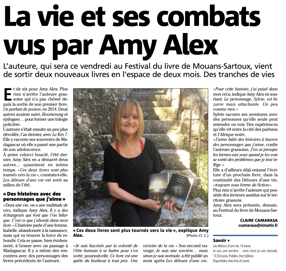 article_Nice-Matin_Amy_Alex_2018_Edilivre